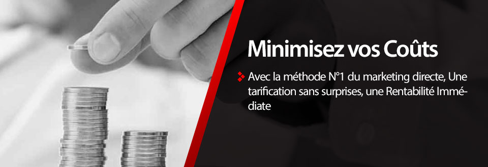 Minimiser vos couts, e-mail marketing Algérie DZ