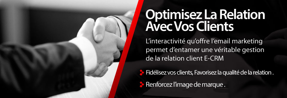 Optimiser la relation Cients Marketing direct Algérie